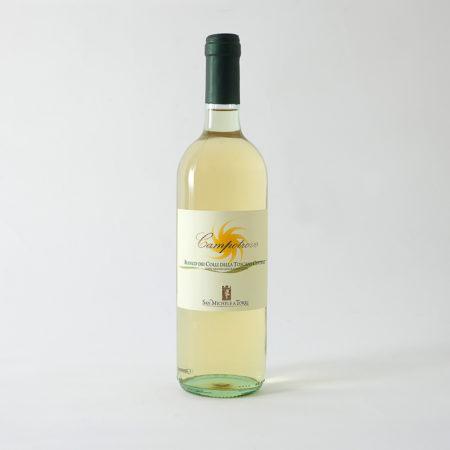 vino bianco toscano campotrovo prodotto da fattoria san michele a torri