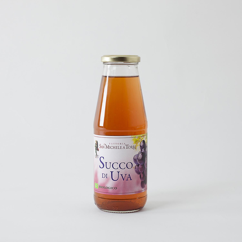 Succo di uva biologico