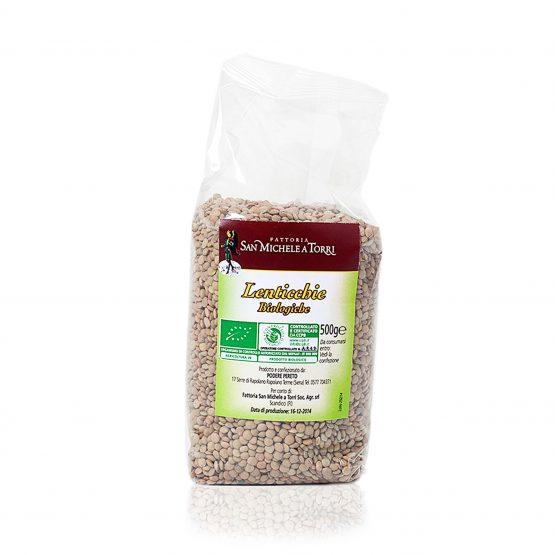 lenticchie biologiche prodotte dalla fattoria san michele a torri