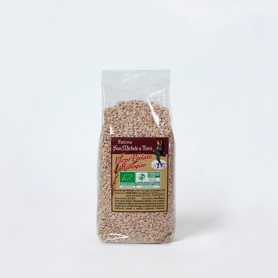farro perlato biologico prodotto da fattoria san michele a torri