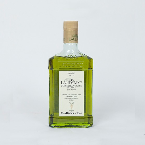 olio pregiato extravergine di oliva laudemio prodotto dalla fattoria san michele a torri