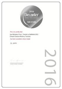DECANTER WORLDS WINE AWARDS