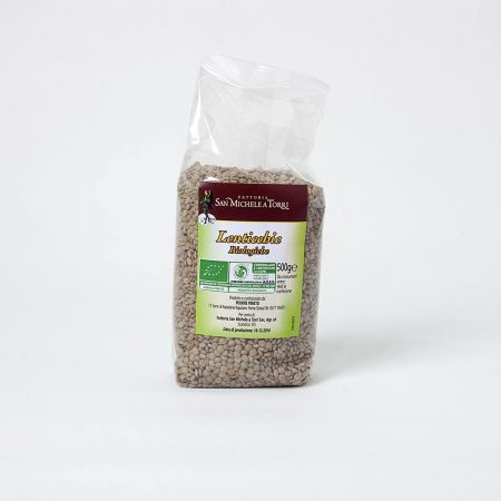 Organic Lentils - Pack of 0,5 Kg - Organic Farmhouse in Tuscany