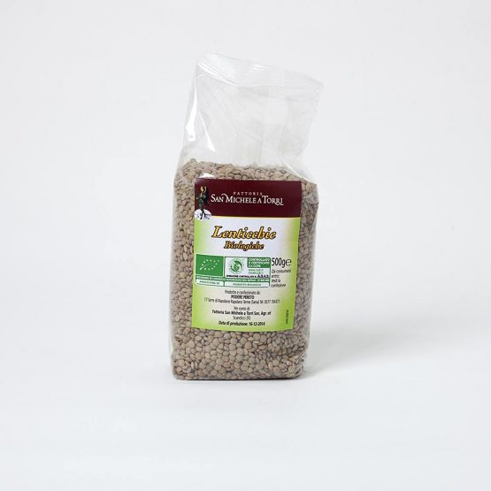 organic lentils pack
