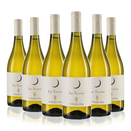 """6 Bottles """"La Luna"""" Tuscan White Wine IGT - 10% Off"""