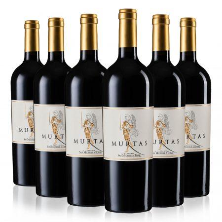 "6 Bottles ""Murtas"" SUPERTUSCAN Red Wine IGT - 10% Off"
