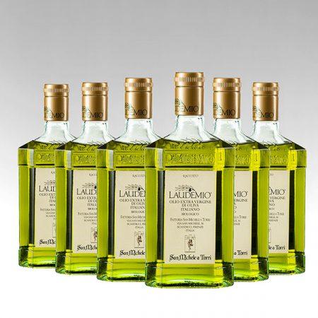 6 Bottiglie di LAUDEMIO OLIO EXTRA VERGINE DI OLIVA - Sconto 10%