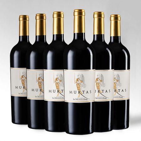"""6 Bottiglie """"Murtas"""" SUPERTUSCAN IGT Toscana Rosso - Sconto 10%"""