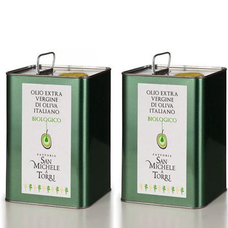 OLIO EXTRA VERGINE DI OLIVA - 2 Latte da 3 lt. - Sconto 10%