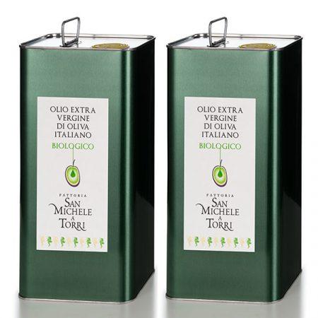 OLIO EXTRA VERGINE DI OLIVA - 2 Latte da 5 lt. - Sconto 10%