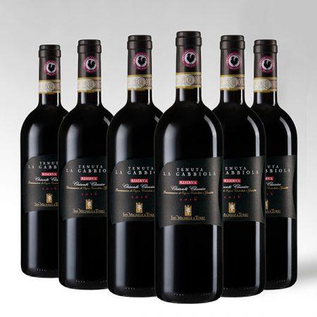 """6 Bottiglie """"Tenuta la Gabbiola"""" RISERVA Chianti Classico DOCG - Sconto 10%"""
